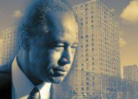 Ben Carson and NYCHA housing (Credit: Getty Images and Wikipedia)