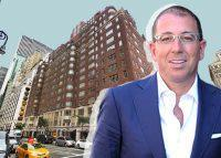 680 Madison Avenue and Thor Equities CEO Joe Sitt (Credit: Google Maps)