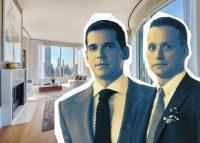 The penthouse at 252 East 57th Street with Douglas Elliman's Oren and Tal Alexander