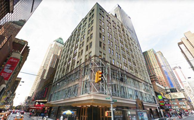 The Brill Building at 1619 Broadway (Credit: Google Maps)