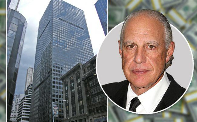 Edward Minskoff and his 1166 Avenue of the Americas (Credit: Getty Images and Wikipedia)