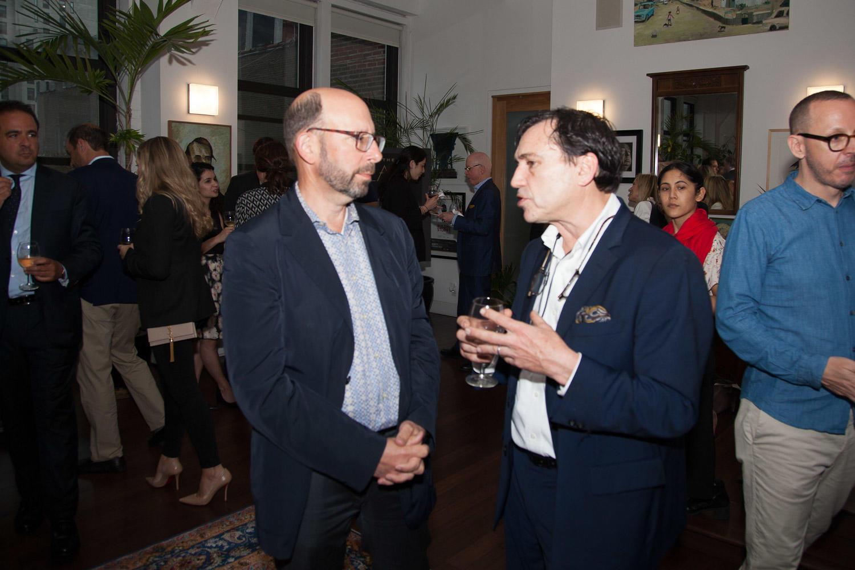 Architect Gene Kaufman and Dynamic Star's Brad Zackson