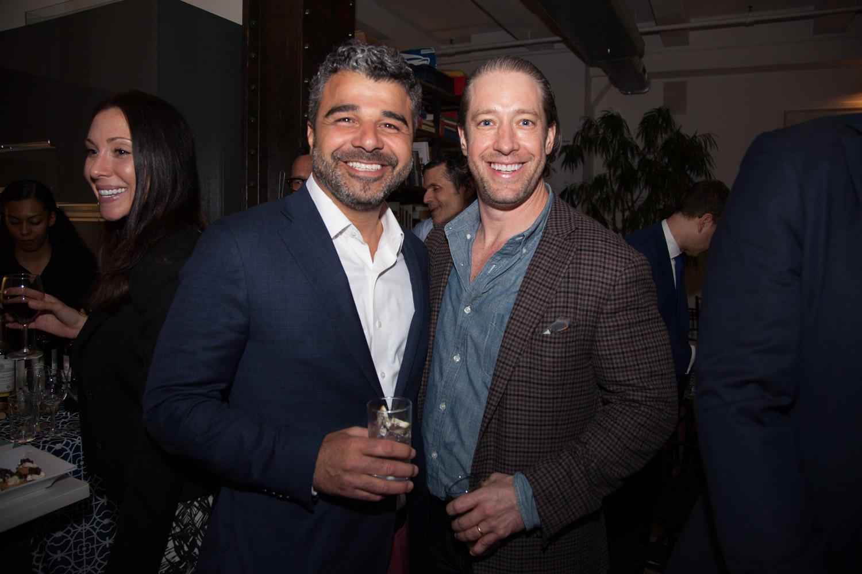 Keller Williams NYC's Ilan Bracha and Slate Property Group's David Schwartz