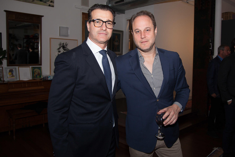 Douglas Elliman's Tamir Shemesh and The Real Deal's Yoav Barilan