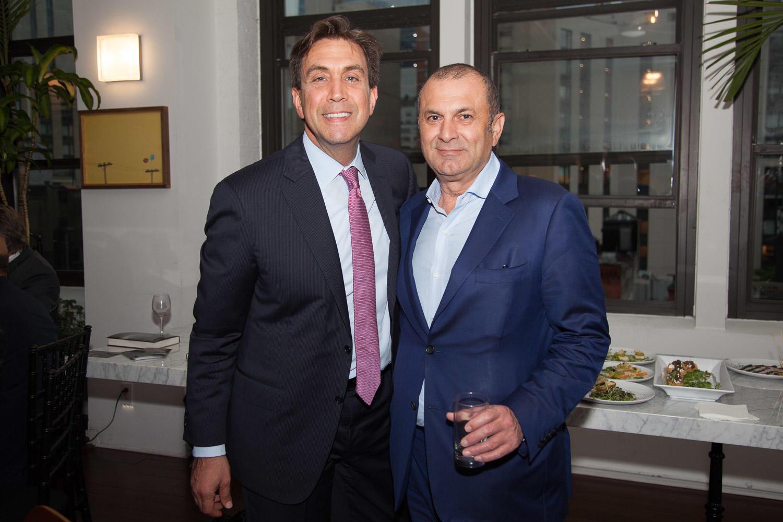 Avison Young's Todd Korren and Cohen Equities' Meir Cohen