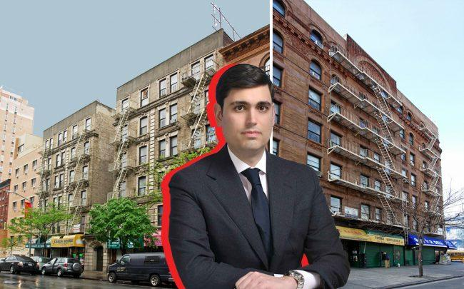 Isaac Kassirer with 120 West 116th Street and 1917 Adam Clayton Powell Boulevard (Credit: Apartments)