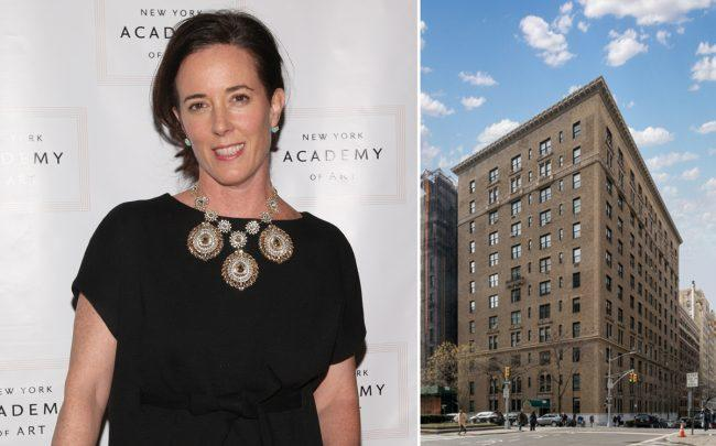 Kate Spade and 850 Park Avenue (Credit: Getty Images)