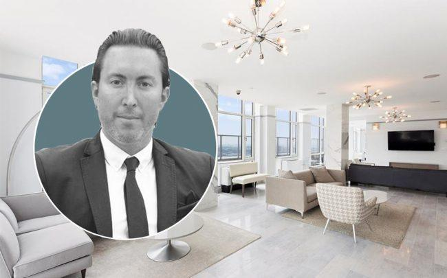 The Atelier president Daniel Neiditch and the penthouse at 635 West 42nd Street