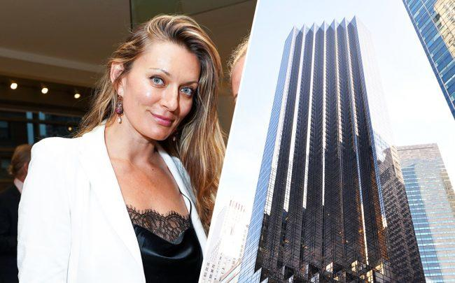 Elena Sapir and Trump Tower at 725 5th Avenue