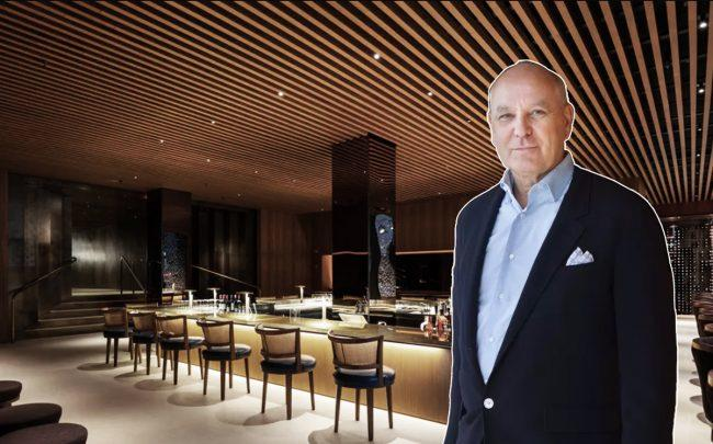 The Four Seasons at 42 East 49th Street and Four Seasons managing partner Alex von Bidder (Credit: Four Seasons Restaurant)
