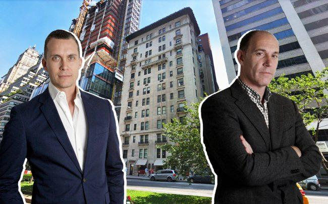 GDS Development's Michael Kirchmann and Alan Rudikoff with 417 Park Avenue (Credit: Google Maps)