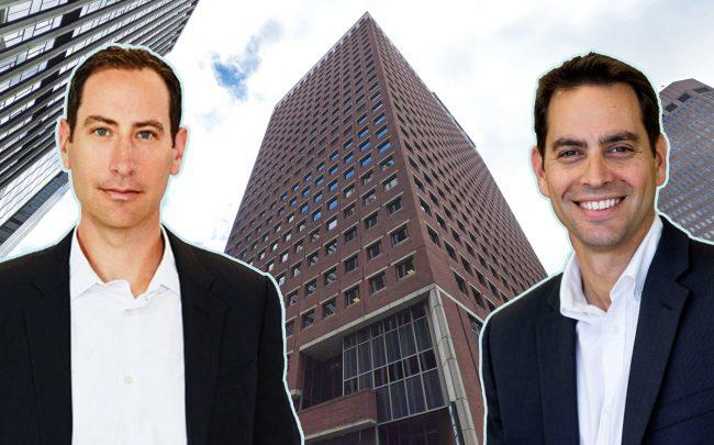 From left: GFP CEO Brian Steinwurtzel, 7 Hanover Square, and Northwind's Ran Eliasaf (Credit: Google Maps)