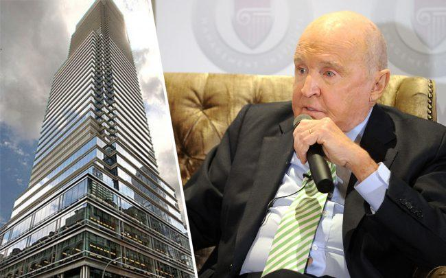 One Beacon Court and Jack Welch (Credit: Getty Images)