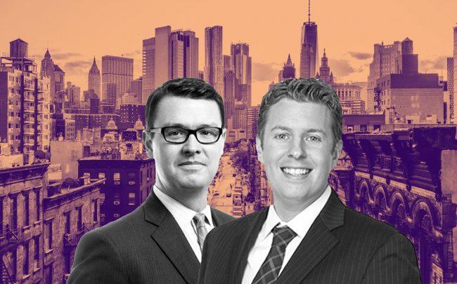 From left: Hodges Ward Elliott managing director Daniel Parker and Ariel Property Advisors' Michael Tortorici (Credit: iStock)