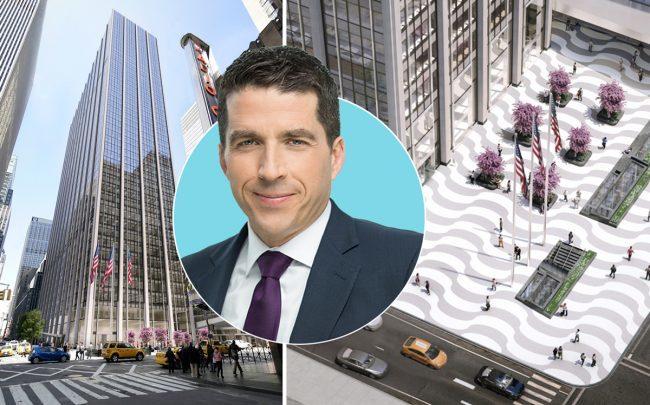 1271 Sixth Avenue and Rockefeller Group CEO Daniel Moore (Credit: Rockefeller Group)