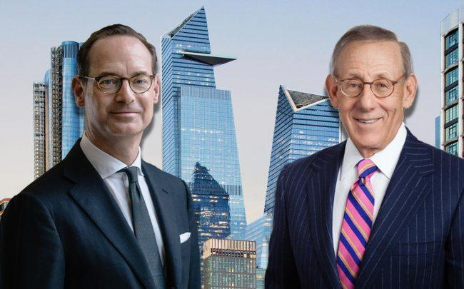 30 Hudson Yards, Allianz CEO Oliver Bäte and Related Companies chairman and founder Stephen M. Ross