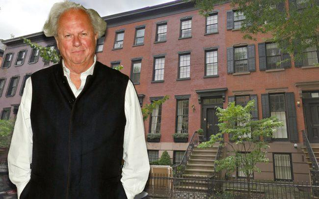Graydon Carter and 22 Bank Street (Credit: Getty Images and Google Maps)