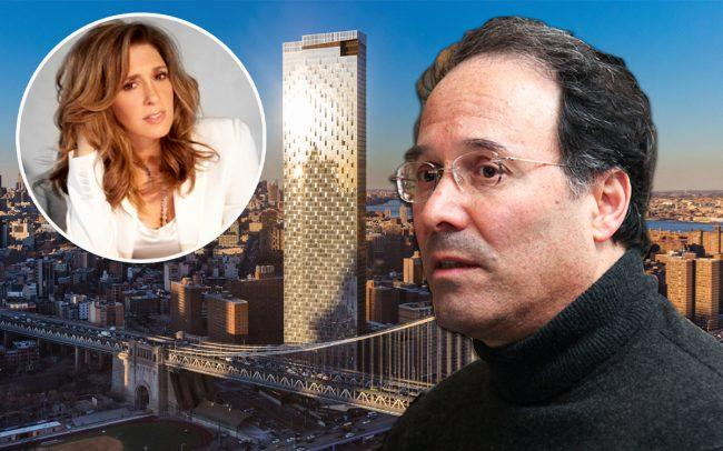Lela Goren and Gary Barnett and One Manhattan Square