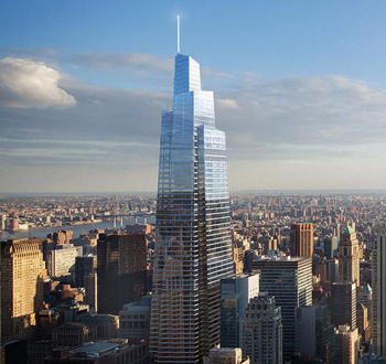 A rendering of One Vanderbilt (Credit: Curbed NY)