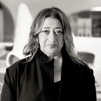 Zaha Hadid (Credit: Wikipedia)