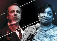 Governor Andrew Cuomo and Senator Andrea Stewart-Cousins (Credit: Getty Images)