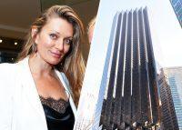 Elena Sapir and Trump Tower at 725 5th Avenue