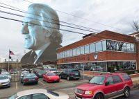 Robert De Niro and 87 19th Avenue in Queens (Credit: Getty Images and Google Maps)
