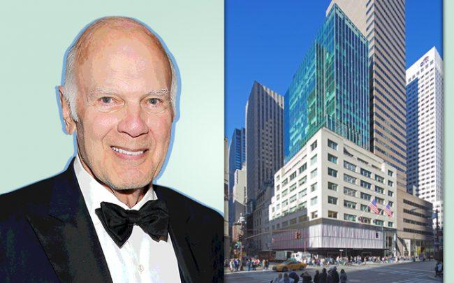 Steven Roth, CEO of Vornado and 640 Fifth Avenue (Credit: Getty Images and Vornado Realty Trust)