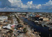 Mexico Beach, Florida, in the aftermath of Hurricane Michael in 2018 (Credit: Getty Images)