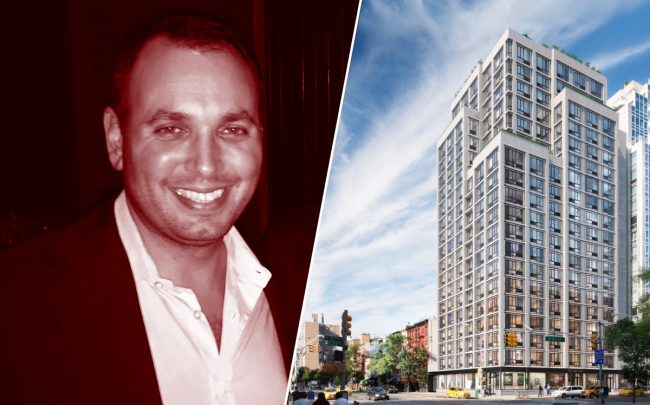 Magnum Real Estate's Ben Shaoul and 385 First Avenue (Credit: Getty Images and StreetEasy)
