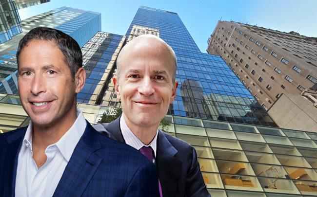 Divco's Stuart Shiff and Boston Properties's Owen Thomas with 540 Madison Avenue