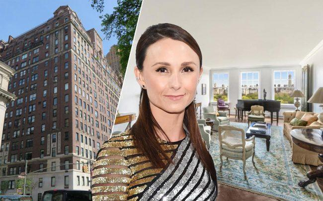 Georgina Bloomberg and 101 Central Park West (Credit: Getty Images/StreetEasy/Wikipedia)