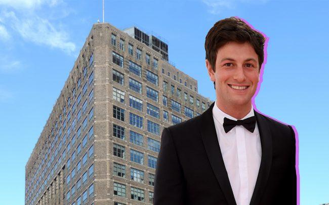 Josh Kushner and One Hudson Square (Credit: Getty Images and Wikipedia)