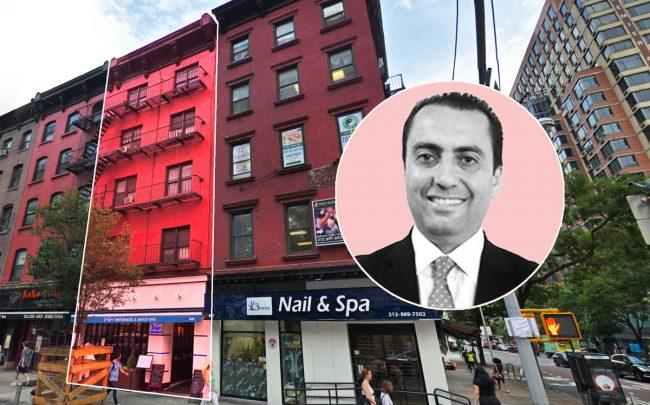 Lalezarian Properties principal Kevin Lalezarian and 509 Third Avenue in Manhattan