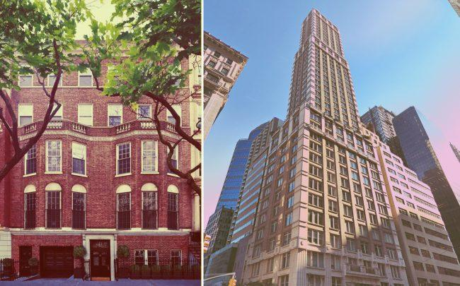 36-38 East 74th Street and 515 Park Avenue (Credit: Google Maps)