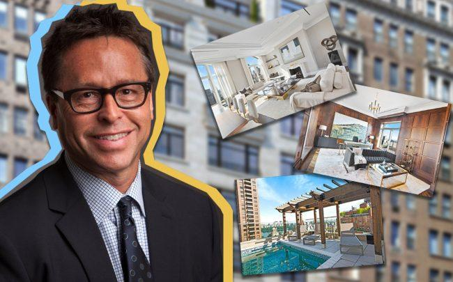 Toll Brothers' David Von Spreckelsen and 1110 Park Avenue penthouse