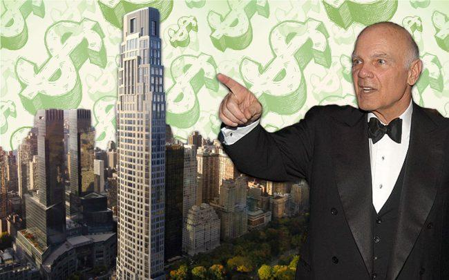 Vornado's Steve Roth and 220 Central Park South (Credit: Getty Images, iStock)
