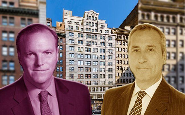 From left: The Vanbarton Group's Richard Coles, Gary Tischler and 45 West 45th Street