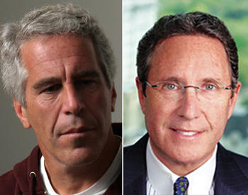 Jeffrey Epstein and Andrew Farkas (Credit: Getty Images and Island Capital Group)