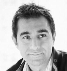 Flybits CEO Hossein Rahnama (Credit: Twitter)