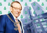 Related Chairman Steve Ross and Time Warner Center at 25 Columbus Circle (Credit: Getty Images and iStock)