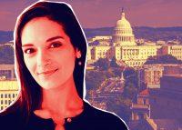 Senator Julia Salazar (Credit: Salazar for Senate, and iStock)