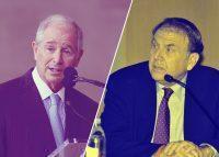 Blackstone's Stephen Schwarzman and Richard LeFrak