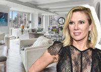 Ramona Singer and her home at 201 East 80th Street (Credit: Getty Images, Douglas Elliman)