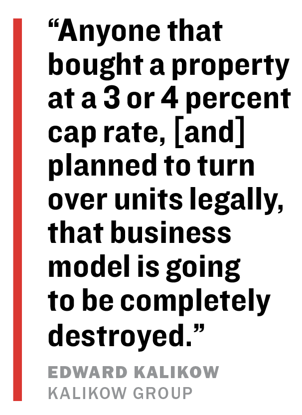New York Rent Law Sparks Response from Real Estate Industry