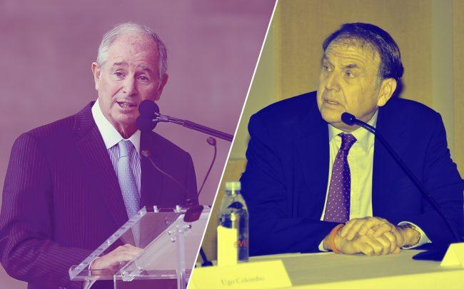 Blackstone's Stephen Schwarzman and Richard LeFrak