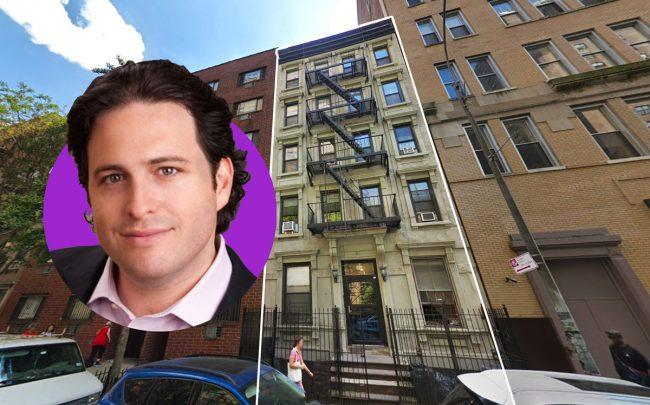 416 West 25th Street and Maverick Real Estate Partners principal David Aviram (Credit: Google Maps and LinkedIn)
