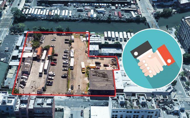 313-331 Bond Street in Gowanus (Credit: Google Maps and iStock)