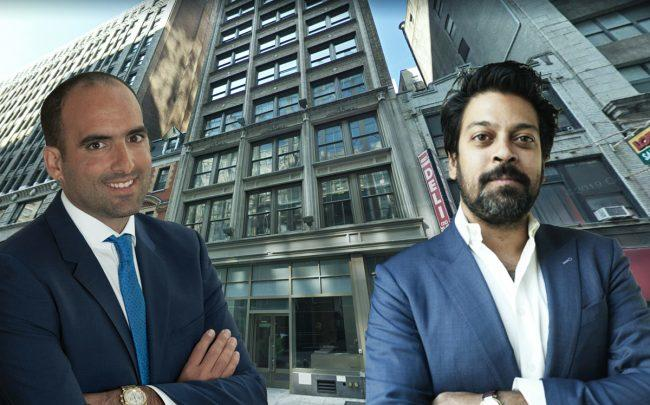 From left: Jack Terzi, 31 East 28th Street, and Michael Shah (Credit: Jack Terzi, Delshah Capital and Google Maps)