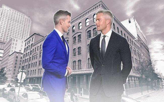 Ryan Serhant and 416 Washington Street (Credit: Getty Images and Google Maps)